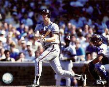 DALE MURPHY 8x10 Action Photo @Wrigley Field ATLANTA BRAVES Steiner MLB baseball