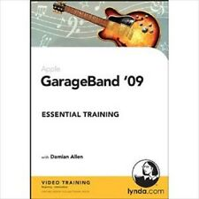 LYNDA.COM GARAGEBAND '09 TRAINING CD ROM WITH DAMIAN ALLEN  (AM4)