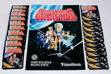 Americana 1978 Battlestar Galactica - Album Vide Album + 20 Sacs Packets