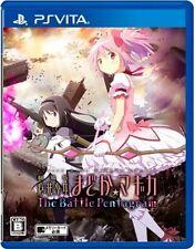 Used PlayStation PS Vita Puella Magi Madoka Magica The Battle Pentagram