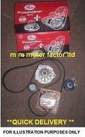 FIAT 500 1.2 8v 8 valve (2007-) GATES TIMING CAM BELT KIT WITH WATER PUMP OEM