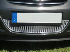 Opel Corsa D Tuning Chrom Frontgrill Aluminium Renngitter für die Stoßstange
