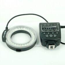 Meike LED Macro Ring Flash FC100 For Nikon Canon Pentax Camera DSLR etc.