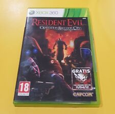 Resident Evil Operation Raccoon City GIOCO XBOX 360 VERSIONE ITA