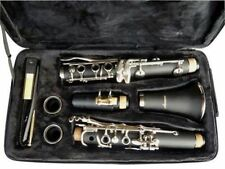 NEW BAND CLARINET Wood Finish.W/CASE.APPROVED+WARRANTY