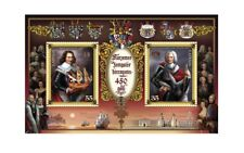 Post Stamp Block The 450 Anniversary Kurzeme and Zemgale Duchies Latvia New D055