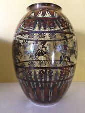 Vase Saint Graal France décor argent 980%