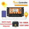 MPPT Solar Charge Panel Regulator Controller Auto Focus Tracking 12V/24V 10-100A