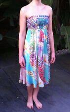 Cotton Blend Sundresses Multi-Colored Dresses for Women