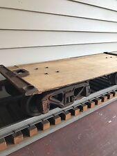 TRAIN CAR LOT 7.25 - 7.5 GAUGE 1.5 SCALE BACKYARD RAILROAD DISPLAY TRACK OR USE