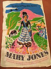 Vintage Lino/Algodón Toalla de té la Sociedad Bíblica Británica & extranjeros-Mary Jones