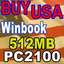 512MB 512 WinBook X540  LAPTOP PC2100 2100 MEMORY RAM
