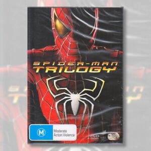 Spider-Man Trilogy DVD Spiderman 1 2 3 Marvel | NEW