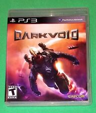 Dark Void PlayStation 3 2010 CAPCOM Complete with Manual