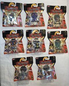 Vintage YUGIOH MOC series 7 Takahashi dark sage metal guardian Mattel FIGURE lot