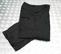 Genuine Vintage US Army M65 Trousers Over Dyed Black - Size: Medium - Regular