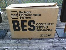 BES Bertagni Electroacoustic Systems, INC MODEL SM 90 OUTDOOR / OUTSIDE SPEAKERS