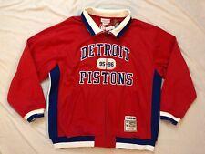 Detroit Pistons Mitchell & Ness 1995-1996 Warm Up Track Jacket - 56 3XL NWT