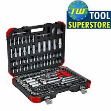 """Gedore Socket Set Red R45603172 172 Piece 1/4"""", 3/8"""" & 1/2"""" Drive"""