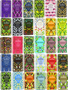Pukka Herbal Organic Teas Tea Sachets - Choose From 40+ Varieties inc Selection