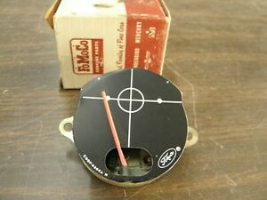 NOS OEM Ford 1960 1961 1962 Falcon Dash Fuel Gas Gauge Early