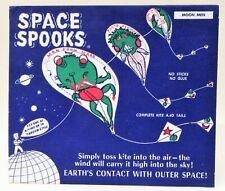 "1950's Space Spooks ""Moon Men"" punch-out kite Alien Monster Frank Roe Co. Mint"