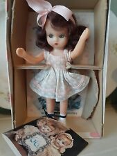 "Vintage Nancy Ann Storybook 5 1/2"" Doll, Big Sister Goes Visiting #65, Box&Book"