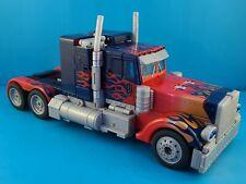 Optimus Prime Premium Series Leader Class Transformers Movie 2007 Incomplete
