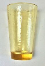FIRE & LIGHT HAND MADE RECYCLED GLASS TUMBLER LOT #4