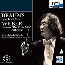 KENICHIRO KOBAYASHI...-BRAHMS: SYMPHONY NO.2 / WEBER:...-JAPAN SACD HYBRID H40