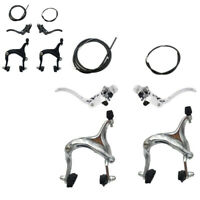 BICYCLE SIDE PULL CALIPER BRAKE SET FRONT & REAR Parts Levers Lines Replacement