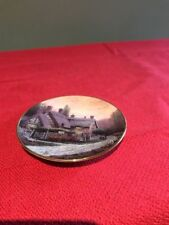 McKenna's Cottage by Thomas Kinkade Mini Plate 2nd Issue 1996