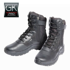 Chaussures GK Pro 08F2Z Cuir et Toile Double Zip Pointure 38
