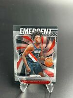 2019 Nassir Little Panini Prizm Emergent Rookie Card #2