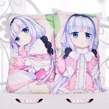 Miss Kobayashi's Dragon Maid Kanna Kamui Dakimakura 2WT Bed Pillow Case 35*55cm
