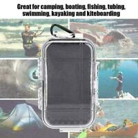 Waterproof Shockproof Box Plastic Outdoor Survival Storage Container Box Ca P6N5