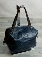 Ital Henkeltasche Tragetasche Handtasche Damentasche Schwarz ECHT Leder 922S