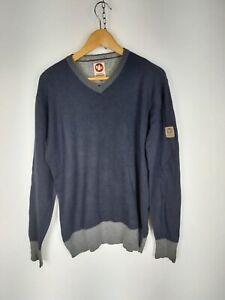 MURPHY & NYE MAGLIONE CASUAL in LANA e COTONE Cardigan Pullover Tg L Uomo