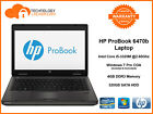 """HP ProBook 6470b 14"""" Laptop Intel i5-3320M @2.60Ghz 4GB MEM 320GB HDD Win 7"""