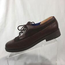 2566cdc82db Lauren Ralph Lauren Men s Brown Leather Oxford Shoes Size 10B