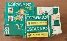 Bustina sigillata  Panini  Espana 82   - sealed packet  - WC 82