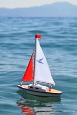New Gunther Giggi sailboat- Big fun packed into a little boat