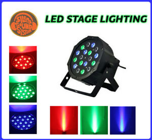 3 Silent Disco Sound System LED Stage Lights Party Lights + Video Tutorial