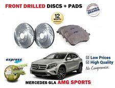 pour Mercedes GLA AMG SPORT 2013- > avant perforé Kit Disque frein + Plaquettes