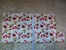 """My Valentine - Cotton Fabric Remnant - 20"""" x 38"""" - RJR Fabrics Hearts & Letters"""
