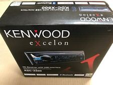 Kenwood KDC-X500 CD receiver with BT,USB and AUX