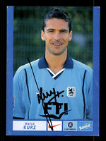 Marco Kurz Autogrammkarte TSV 1860 München 2000-01 Original Sign+A 129847
