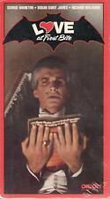 LOVE AT FIRST BITE RARE SEALED VHS GEORGE HAMILTON SUSAN SAINT JAMES HORROR
