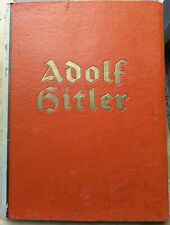 Adolf Hitler - Photo Album Book - 1936 1st edition LIFE OF THE  FÜHRER. GERMAN