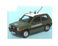 Fiat Panda 1000 Fire 1986 Green - Carabinieri 1:43 Scale Diecast New